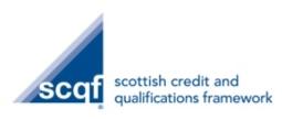Scottish Credit and Qualifications Framework Partnership Icon